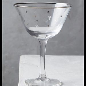 Anthropologie twinkle coupe glasses 2
